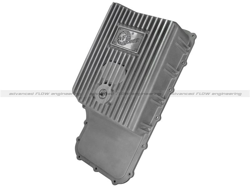 aFe F-250/F-350 6R140 Raw Transmission Pan - Natural (2011-2016)