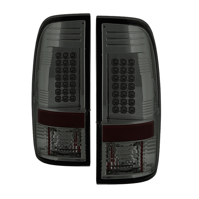 Spyder Super Duty F-250/ F-350 08-16 LED Tail Lights - Smoke