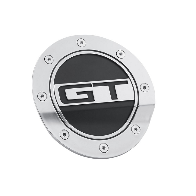 Scott Drake Mustang Fuel Door Comp Series With GT Logo (2015-2020)