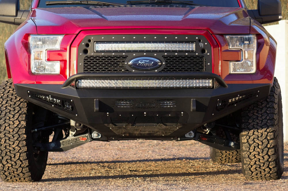 Addictive Desert Designs F-150 EcoBoost Honey Badger Front Bumper (2015-2017)