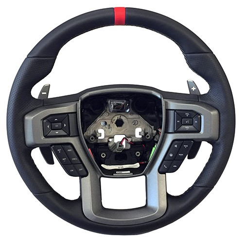 2015-2017 F-150 2017-2018 Raptor Performance Steering Wheel Kit- Red Sightline