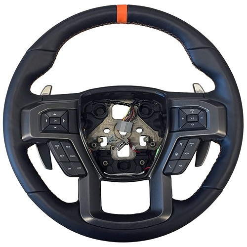 2015-2017 F-150 2017-2018 Raptor Performance Steering Wheel Kit- Orange Sightline