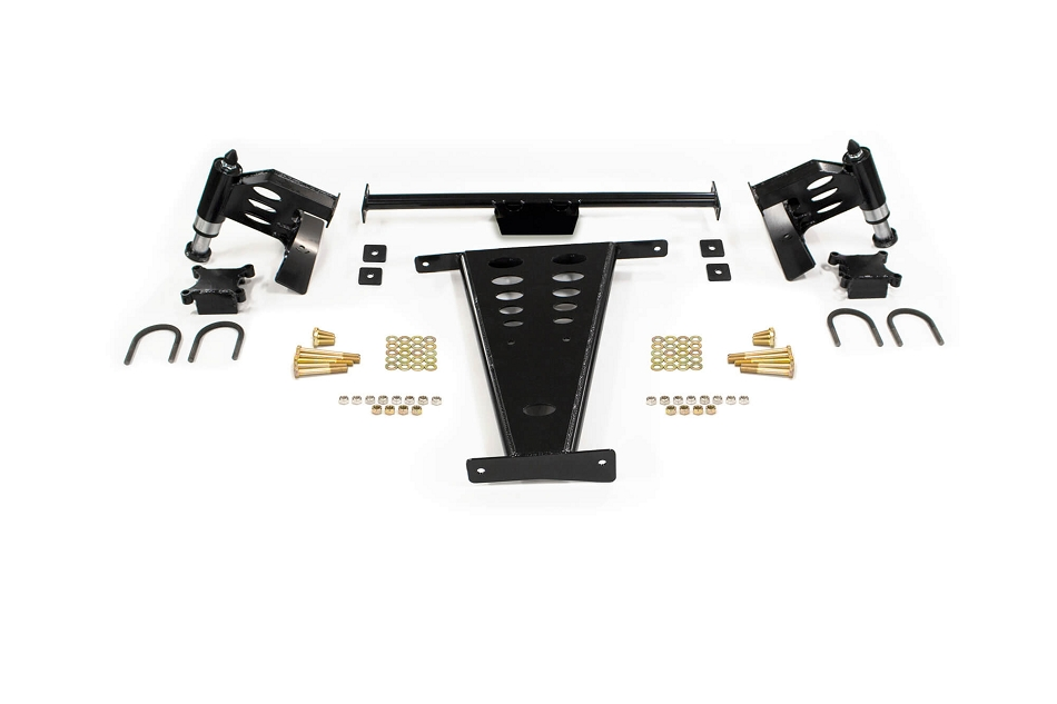 Addictive Desert Designs F-150/Raptor Rear Frame Gusset Bump Stop Kit (2009-2017)