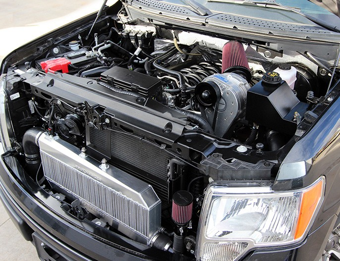 Procharger Raptor & F150 6.2L Stage 2 Intercooled Supercharger System P-1SC-1 & Dedicated 8 rib Drive (2010-2014)