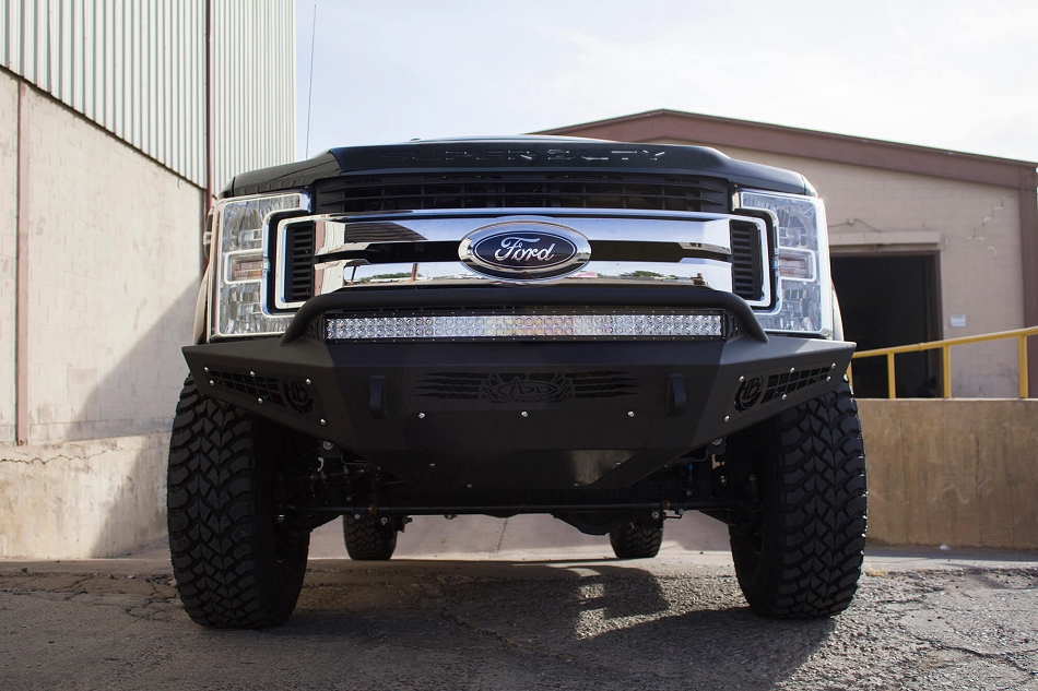 Addictive Desert Designs F-250 / F-350 Honey Badger  Front Bumper (2017-2019)