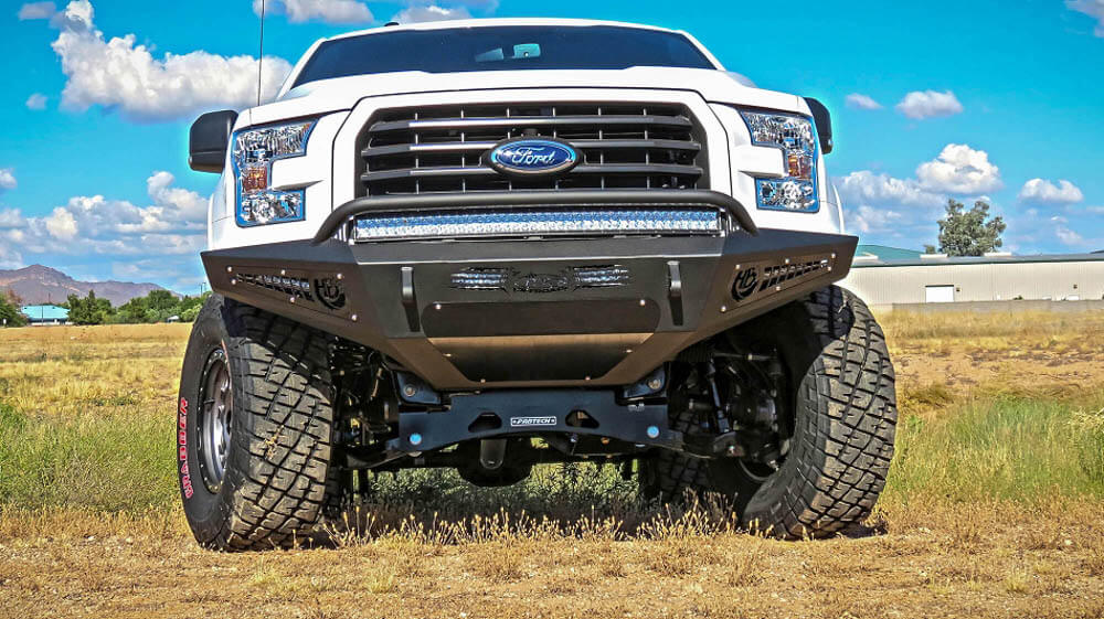 Addictive Desert Designs 2015-2017 F-150 Honey Badger  Front Bumper