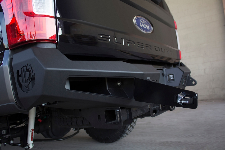 Addictive Desert Designs Super Duty Honey Badger Rear Bumper (2017-2019)
