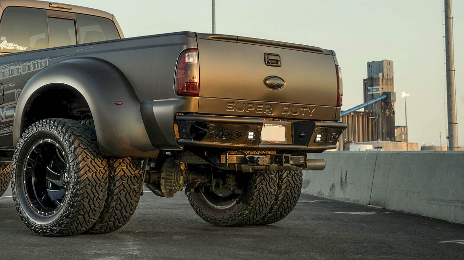 Addictive Desert Designs F-250 F-350 Dimple Rear Bumper (1999-2016)