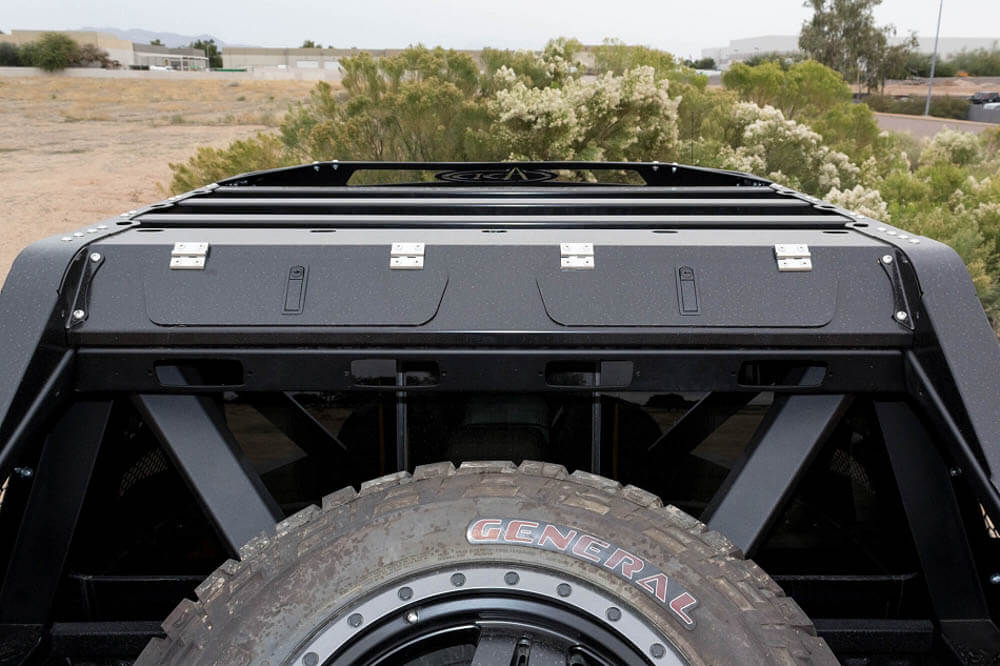 Addictive Desert Designs F-250 F-350 Honey Badger Roof Rack Add on (1999-2016)