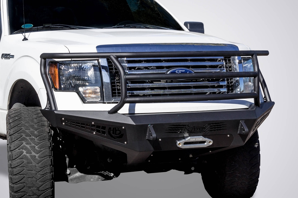 Addictive Desert Designs F-150 Honey Badger Rancher Winch Mount Front Bumper (2009-2014)