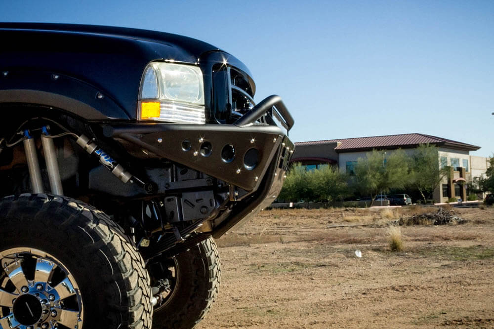 Addictive Desert Designs F-250/F-350 Stealth Winch Mount Front Bumper (1999-2007)