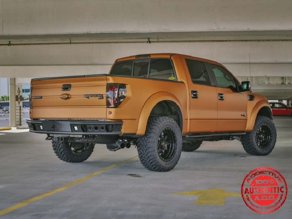 Addictive Desert Designs F-150 Raptor Dimple R Rear Bumper (2009-2014)