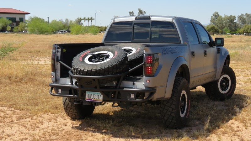 Addictive Desert Designs 2009-2014 F-150 Raptor Race Series TC Rear Bumper