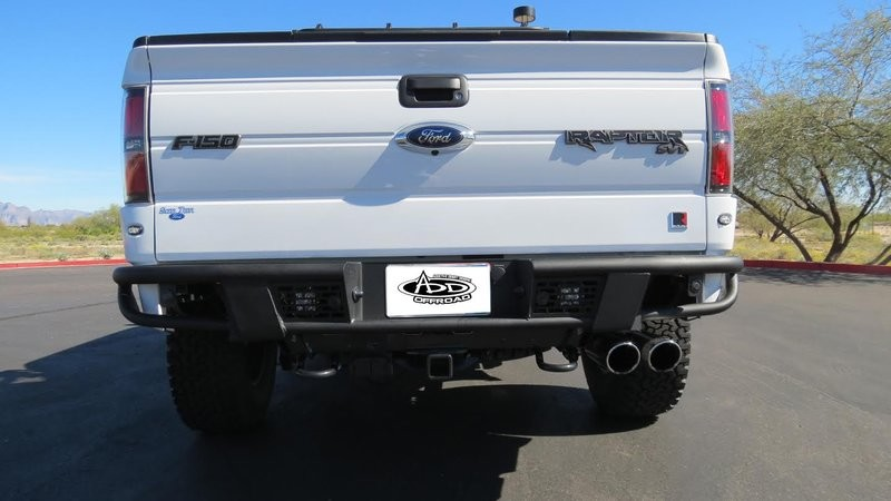 Addictive Desert Designs F-150/Raptor Race Series R Rear Bumper w/ Backup Sensor Cutouts (2009-2014)
