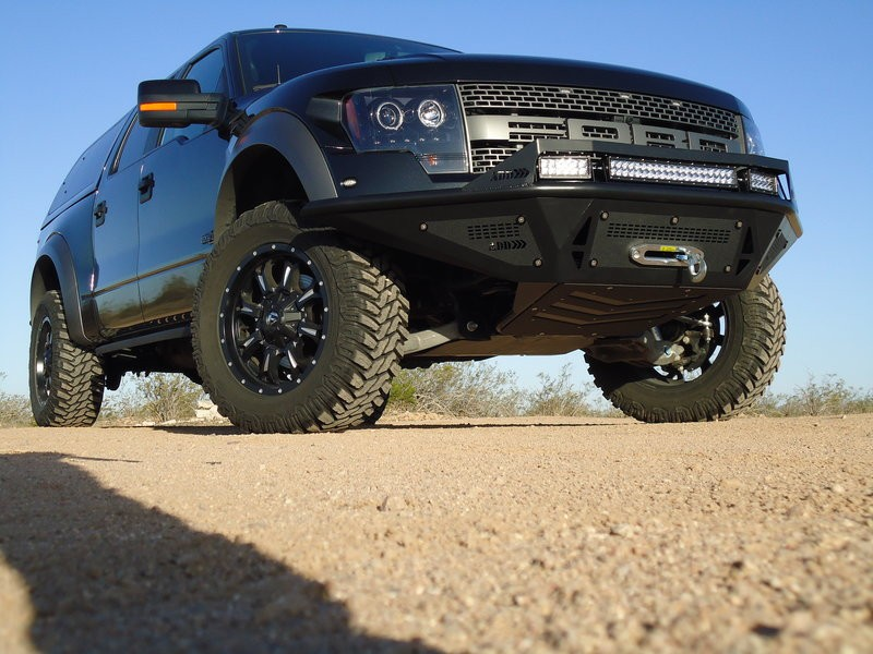Addictive Desert Designs 2010-2014 Raptor Stealth Fighter Winch Mount Front Bumper