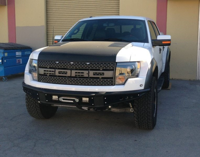 Addictive Desert Designs 2010-2014 Raptor Venom Winch Mount Front Bumper