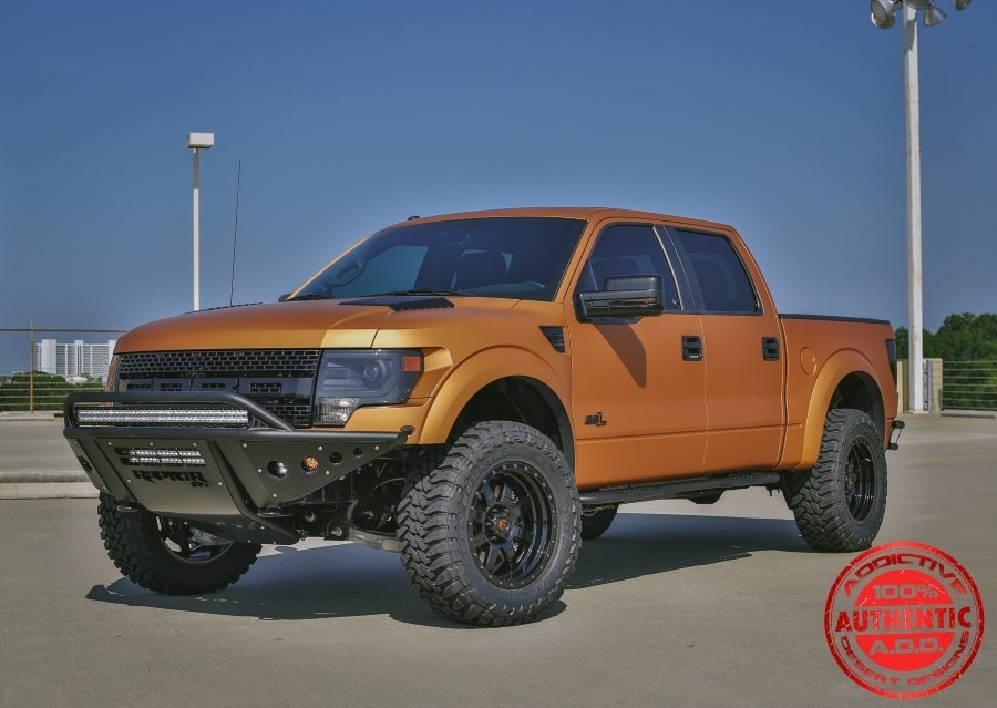 Addictive Desert Designs Raptor Stealth Front Bumper (2010-2014)