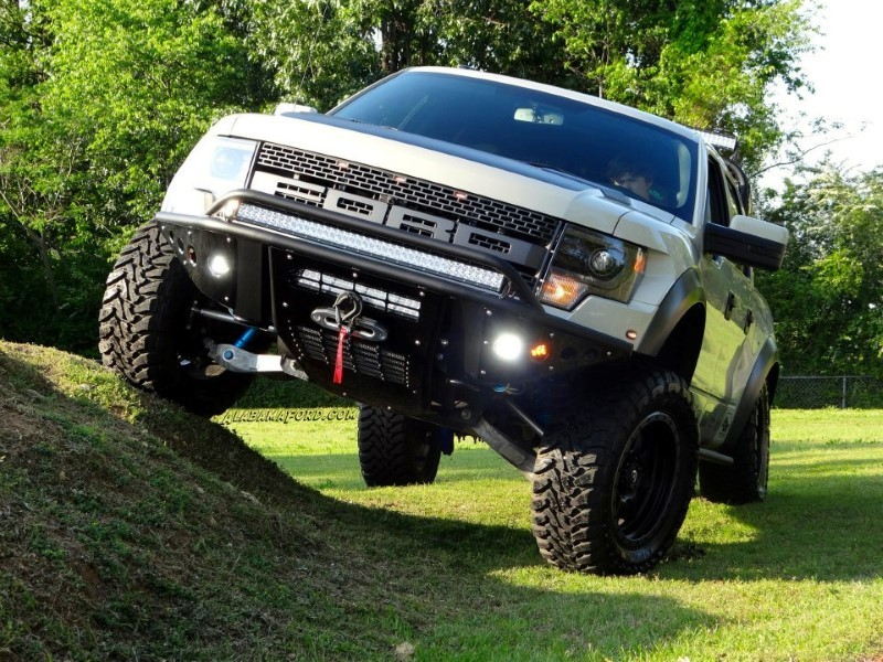 Addictive Desert Designs 2010-2014 Raptor Stealth Winch Mount Front Bumper