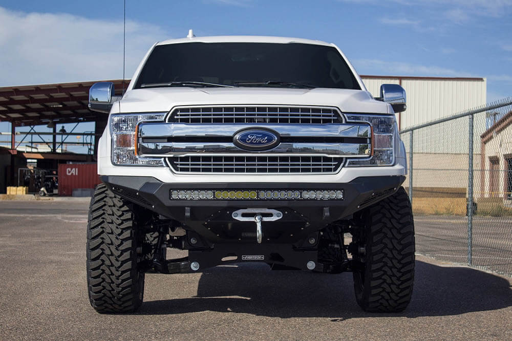 Addictive Desert Designs 2018 F-150 Stealth Fighter Winch Mount Front Bumper