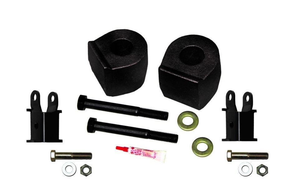 SuperLift F-250/F-350 4WD 2.5'' Front Leveling Kit With Shock Extensions (2005-2017)