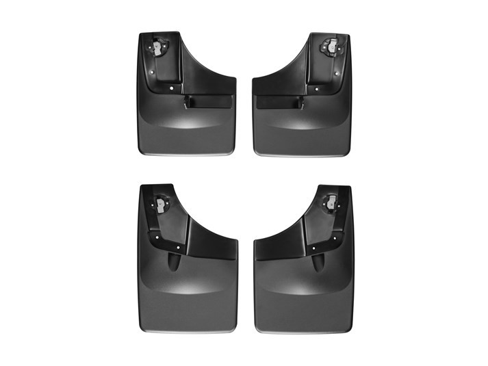 Weathertech No Drill Front & Rear Mudflaps - Black (2015-2018 F-150)