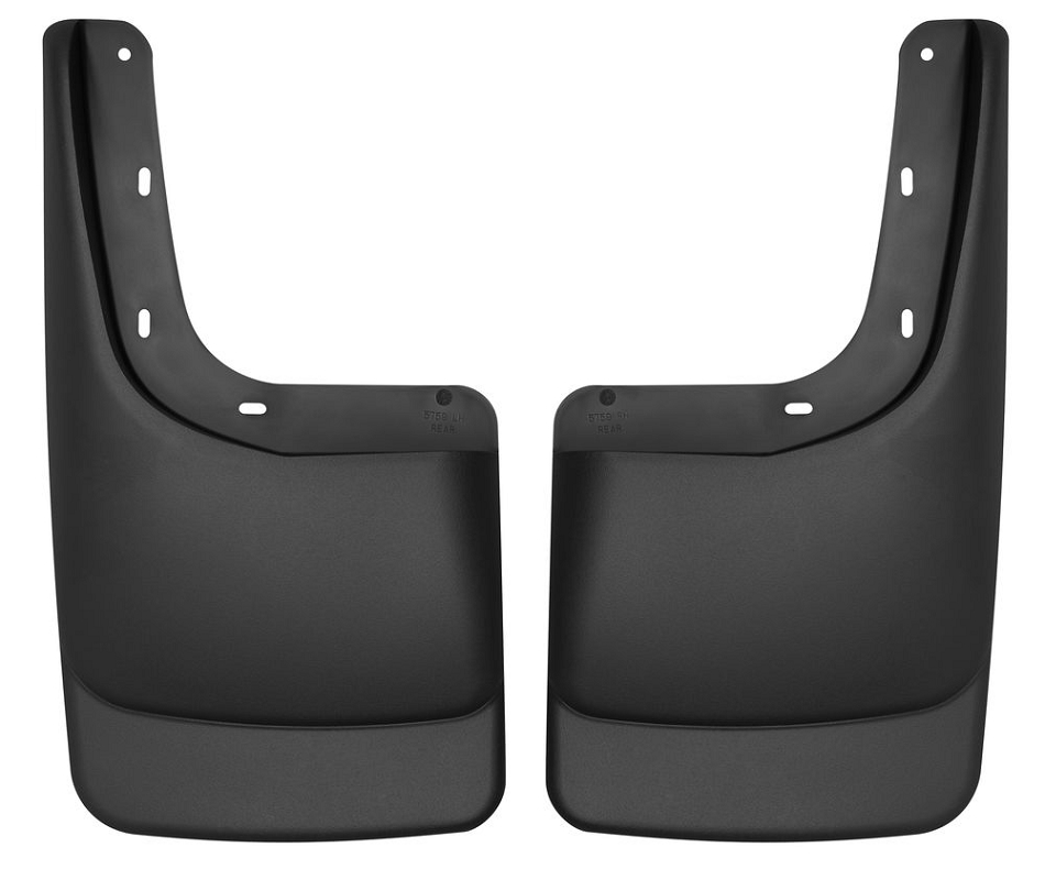 Husky Liners Rear Mud Guards F-150 w/ OE Fender Flares - Black (2009-2014)