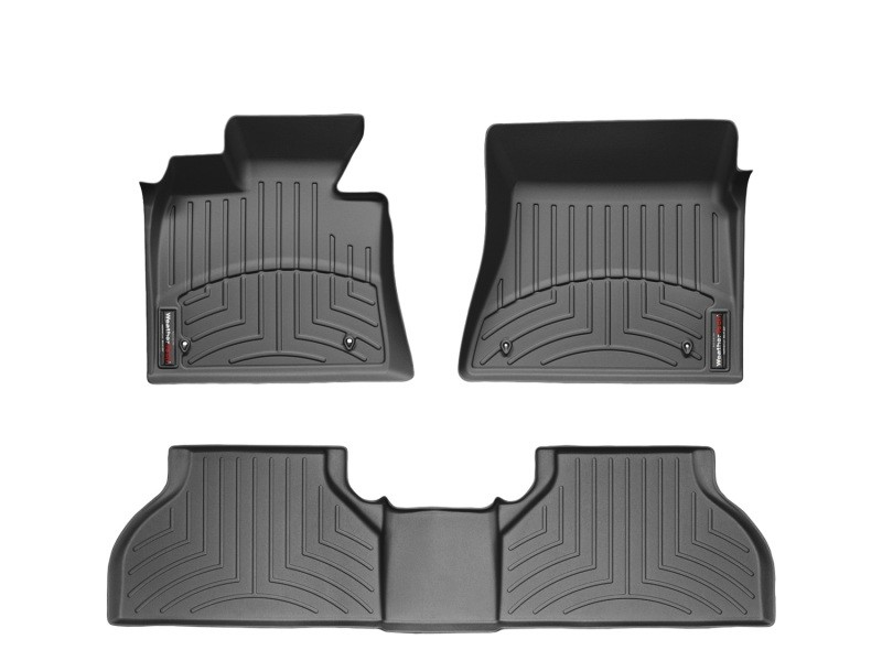 WeatherTech 2015+  F-150 Super Cab w/  Front & Bench Rear Floor Liner Set