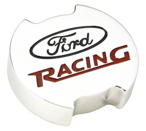 Ford Performance Chrome Aluminum Oil Fill Cap Cover for Modular Engines