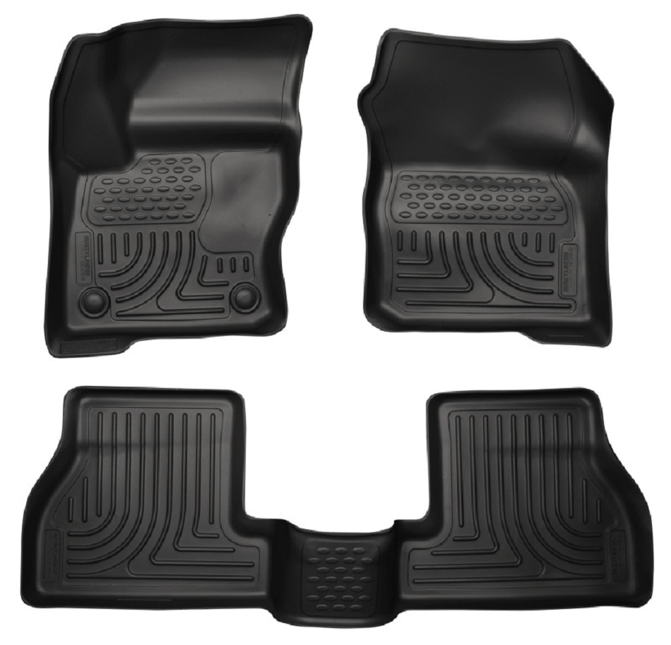 Husky Liners WeatherBeater Front & Rear Floor Liners Focus ST 2012-2016