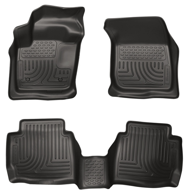 Husky Liners WeatherBeater Front & Rear Floor Liners Fusion 2013-2016