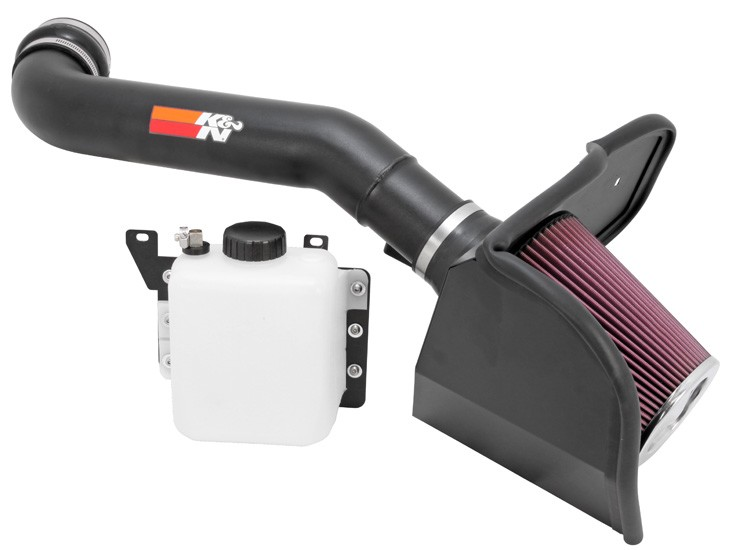 K&N Raptor 6.2L High Flow Performance Intake Kit (2010-2014)