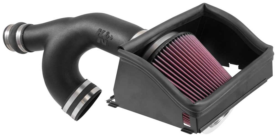 K&N F-150 2.7L EcoBoost Performance Cold Air Intake Kit (2015-2019)