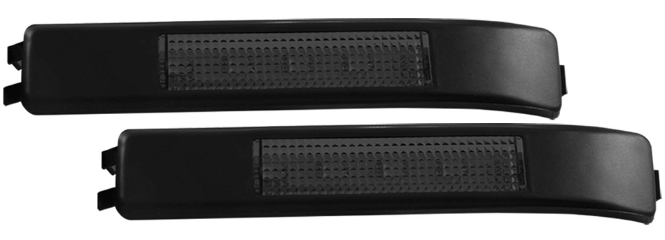 ANZO LED Mirror Lights Ford F-150 - Smoke w/ Amber (2009-2014)