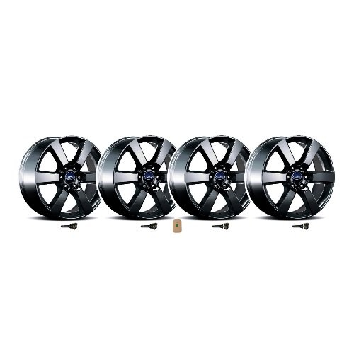 Ford Performance F-150 2015-2018 Six Spoke Wheel Set 20