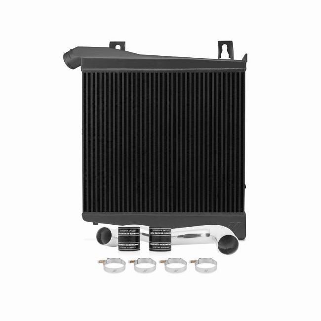 Mishimoto F-250/F-350 6.4L Powerstroke Intercooler Kit -Black (2008-2010)