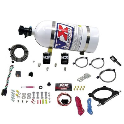 Nitrous Express 5.0L Coyote High Output Plate System 50-250HP With 10LB Bottle (2011-2019)