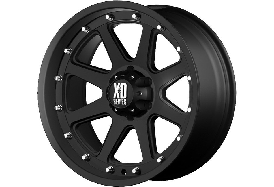 KMC XD 798 Addict Wheel - Black - 20x9 - 04-13