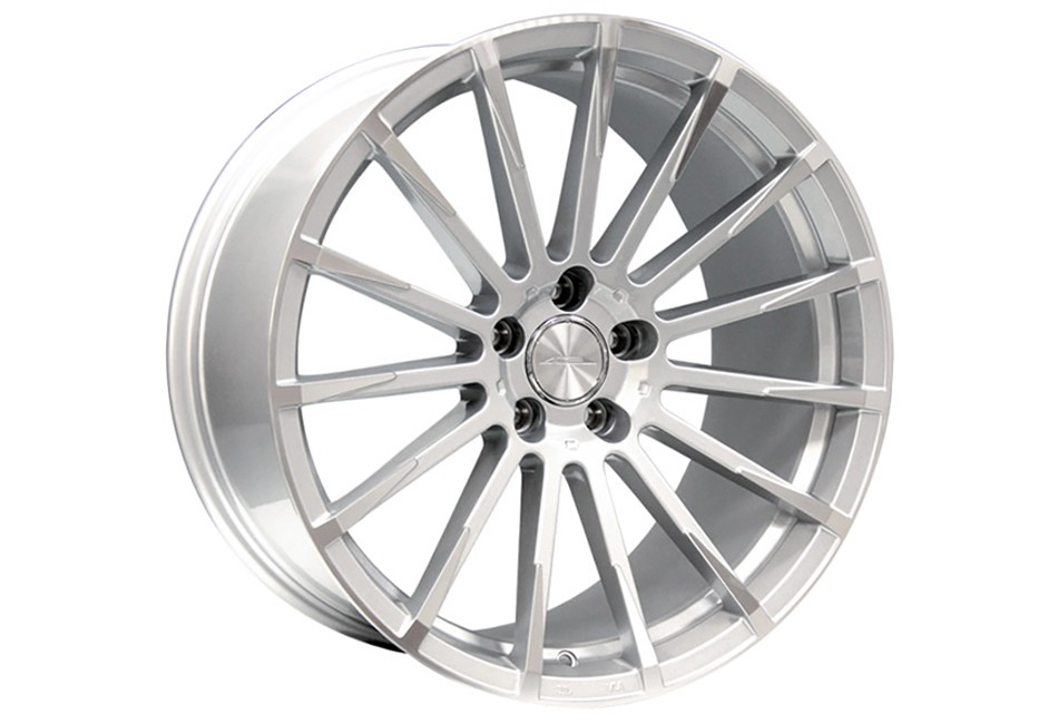 Ace Alloy Devotion Metallic Silver Machined Wheel 19x10 (05-19)