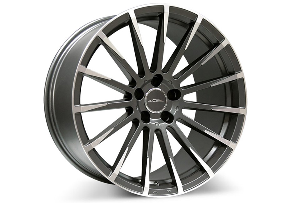 Ace Alloy Devotion Titanium Wheel 19x8.5 (05-19)