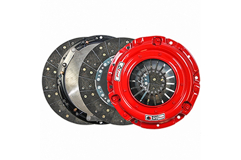 McLeod Mustang EcoBoost RST Twin Disc Clutch Kit w/ Steel Flywheel - 23 Spline (2015-2021)