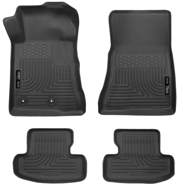 Husky Liners S550 Mustang WeatherBeater Front & Rear Floor Liners (2015-2018 All)