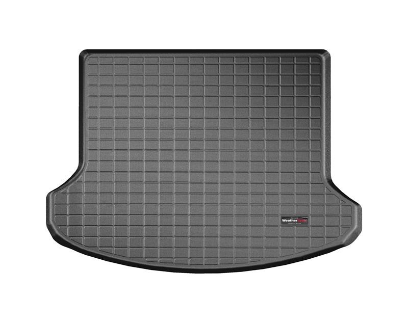 WeatherTech Mustang Black Cargo Liner with Bumper Protector - w/o Shaker Audio with Subwoofer (2015-2020)