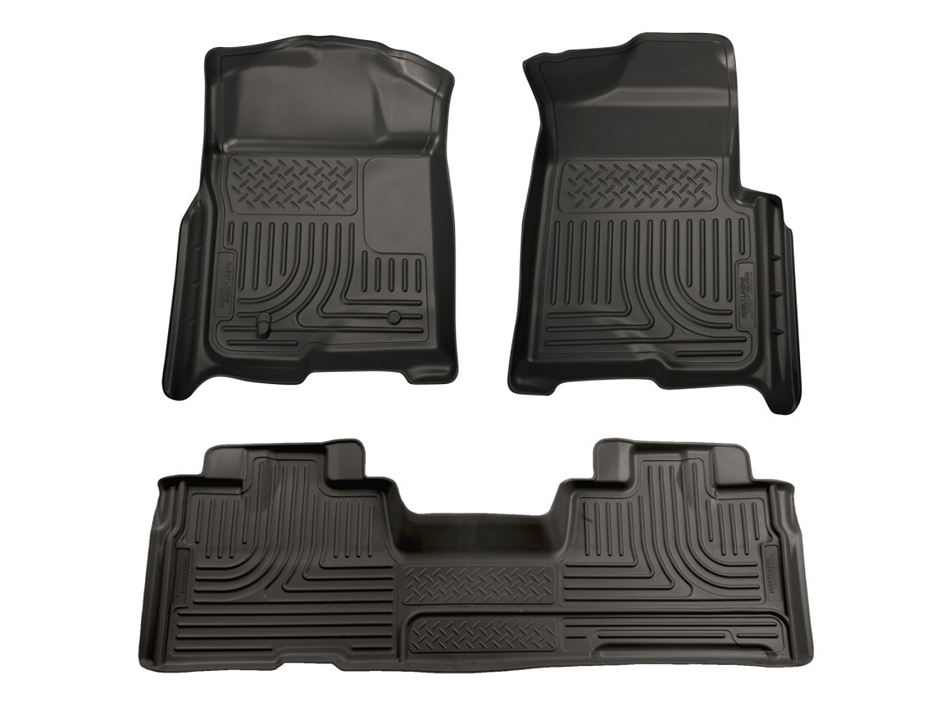 Husky Liners WeatherBeater Front & Rear (09-14 F-150 SuperCab Automatic)