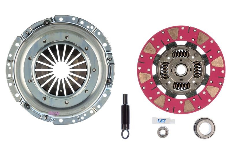 Exedy Mach 600 Racing Stage 2 Cerametallic Clutch Kit, 26 Spline, Cushion button disc Mustang (1996-2004)