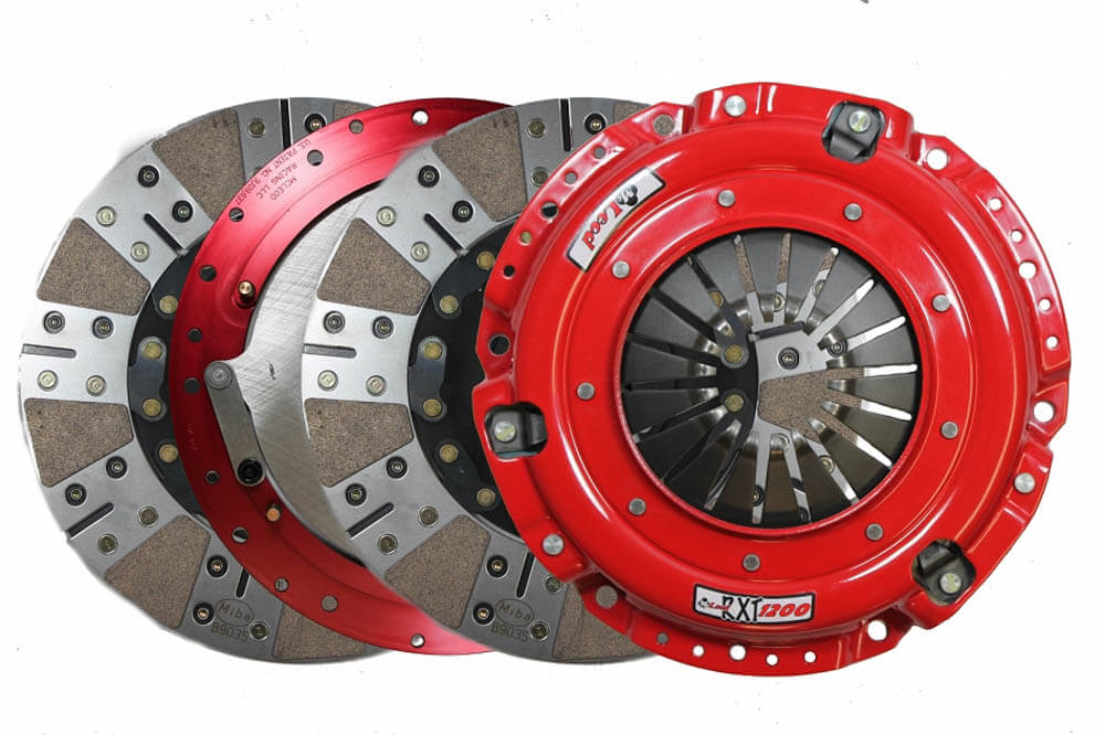 McLeod Mustang GT500 RXT 1200 Twin Disc Clutch Kit - 26 Spline (2007-2009)
