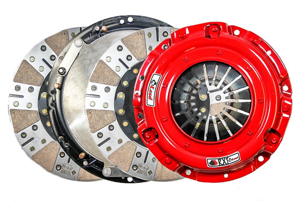 McLeod Mustang GT/Cobra/Mach 1 RXT Twin Disc Clutch Kit - 10 Spline (1999-2010)