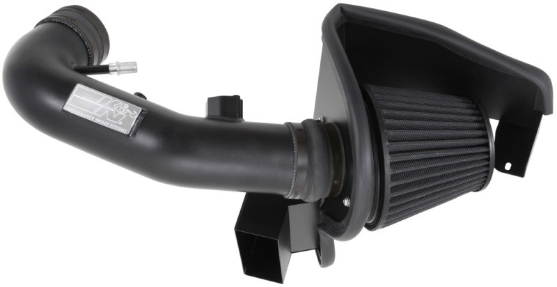 K&N Mustang GT 5.0L Blackhawk Cold Air Intake Kit (2011-2014)