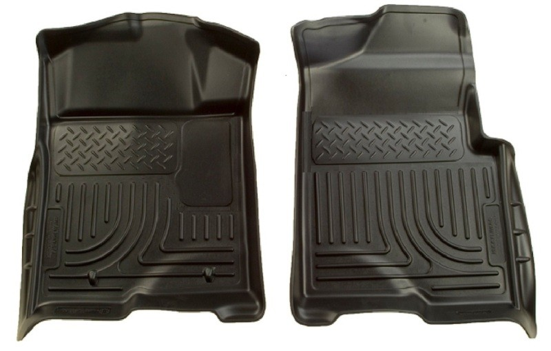Husky Liners F-150 WeatherBeater Black Floor Liners (09-12 Standard / SuperCrew / SuperCab)