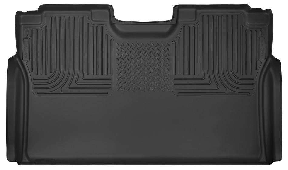 Husky Liners  X-Act Contour Black 2nd Seat Floor Liners - Full Coverage (F-150 / F-250 / F-350)
