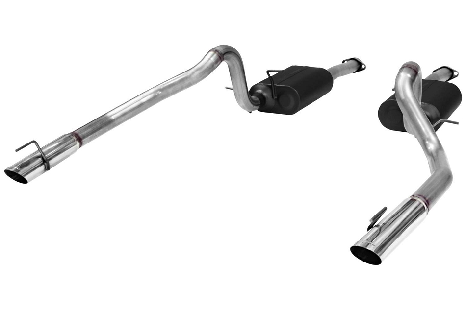 Flowmaster Mustang GT American Thunder Cat-Back Exhaust System - Stainless (1999-2004)